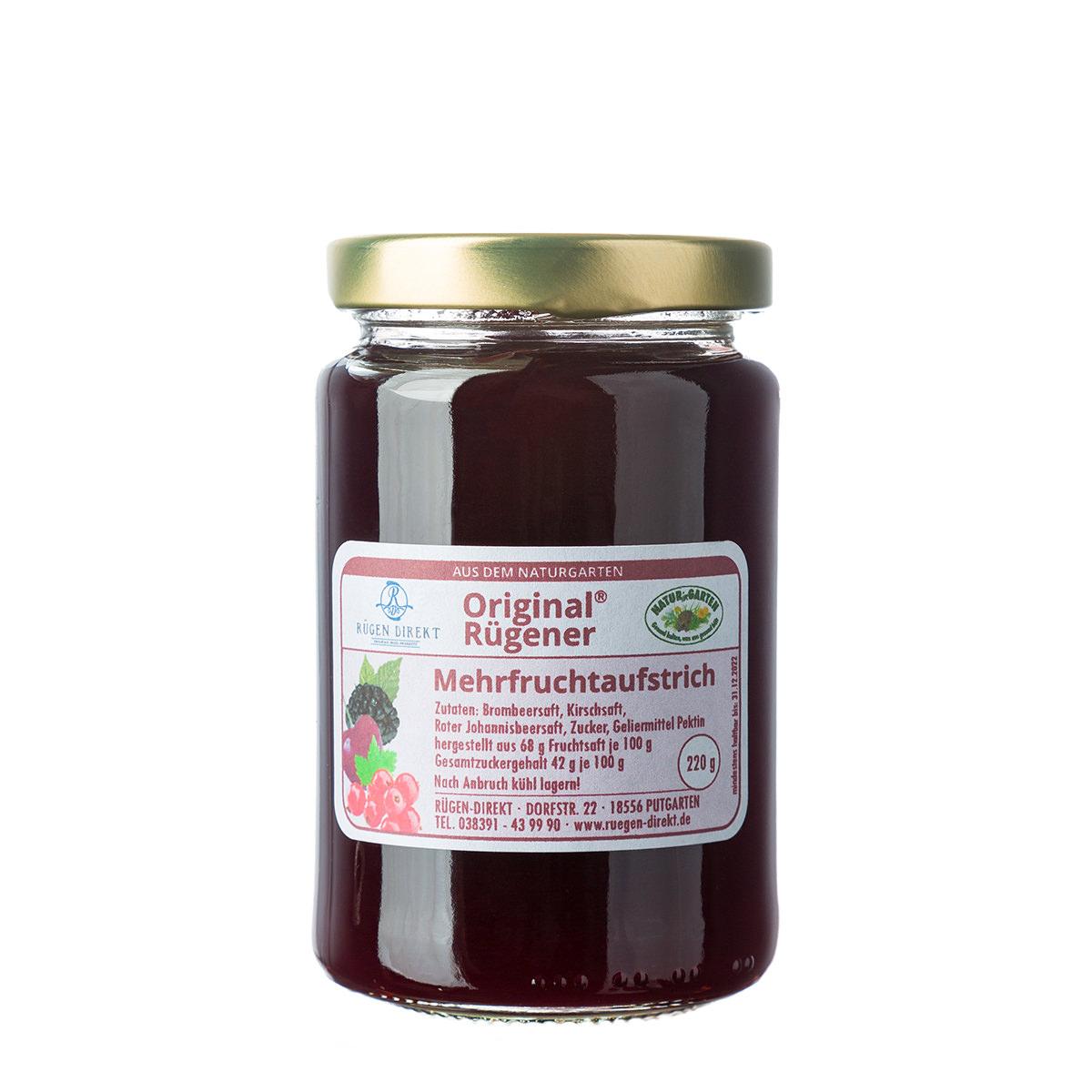 Original Rügener Mehrfruchtaufstrich bei Rügen-direkt kaufen
