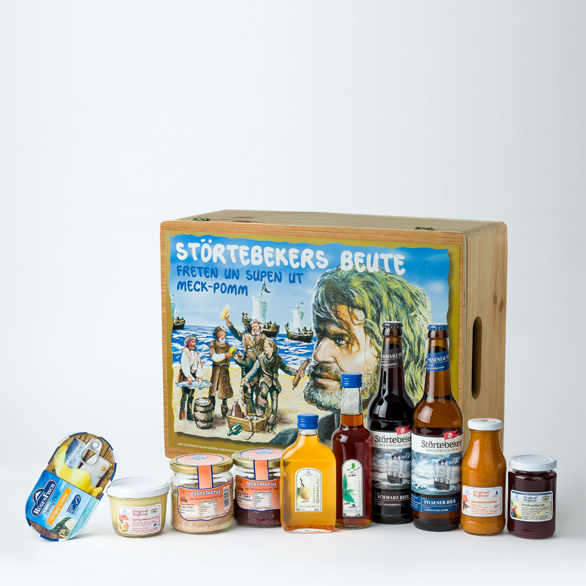 Rügenprodukte online kaufen – Störtebekers Beute Kiste